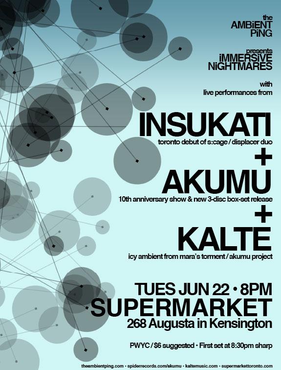 Insukati, Akumu, Kalte Live - Jun 22